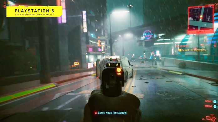 Cyberpunk 2077 PS5 and PS4 Pro gameplay revealed for the first time   Trending Update News
